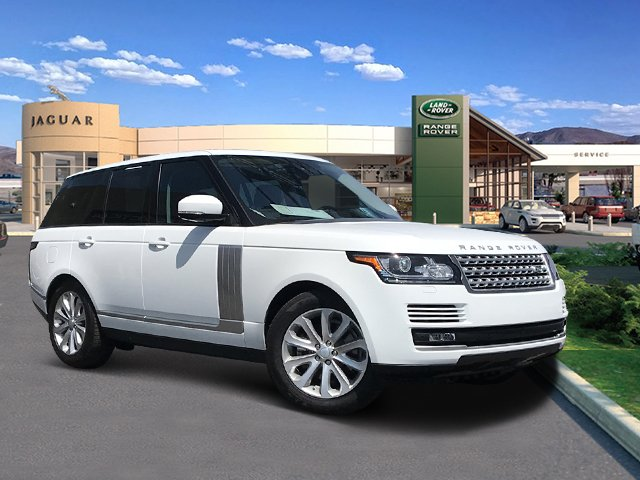 Pre Owned 2017 Land Rover Range Hse