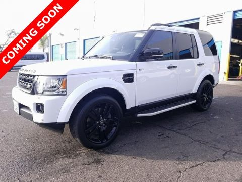 Pre-Owned 2016 Land Rover LR4 HSE Silver Edition